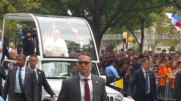 Pope Visit, Salvation Army volunteers, from Eric Becker, Philadelphia, Sept 2015 (149)