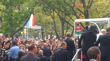 Pope Visit, Salvation Army volunteers, from Eric Becker, Philadelphia, Sept 2015 (159)