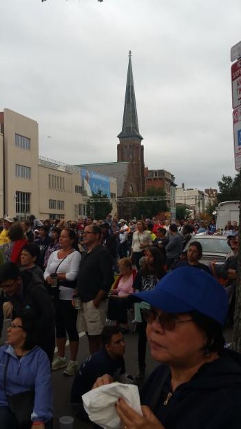 Pope Visit, Salvation Army volunteers, from Eric Becker, Philadelphia, Sept 2015 (164)