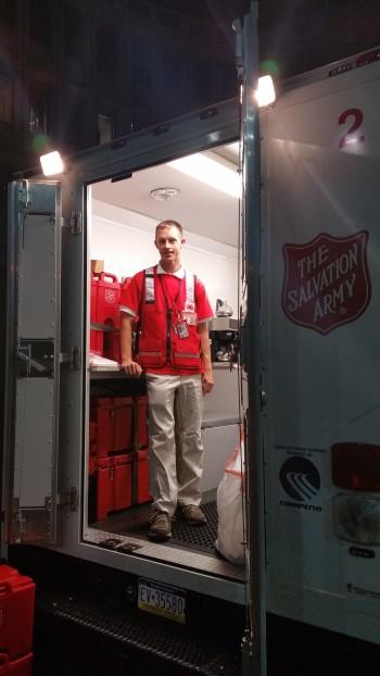 Pope Visit, Salvation Army volunteers, from Eric Becker, Philadelphia, Sept 2015 (18)