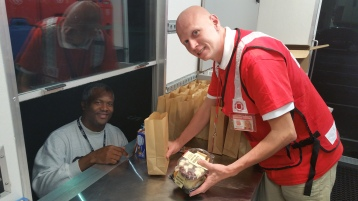 Pope Visit, Salvation Army volunteers, from Eric Becker, Philadelphia, Sept 2015 (5)