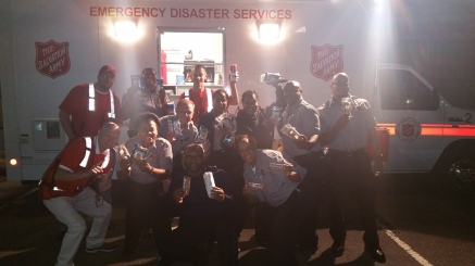Pope Visit, Salvation Army volunteers, from Eric Becker, Philadelphia, Sept 2015 (66)
