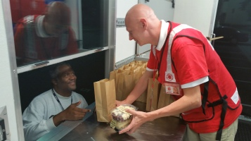 Pope Visit, Salvation Army volunteers, from Eric Becker, Philadelphia, Sept 2015 (9)