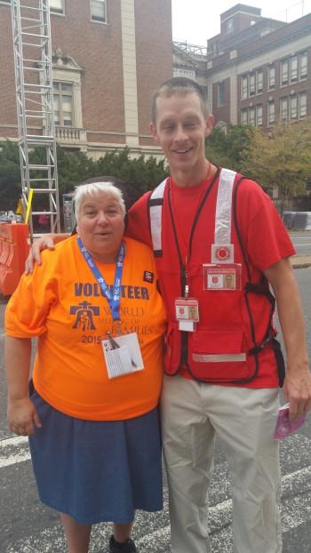 Pope Visit, Salvation Army volunteers, from Eric Becker, Philadelphia, Sept 2015 (98)