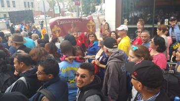 Pope Visit, Salvation Army volunteers, from Eric Becker, Philadelphia, Sept 2015 (99)