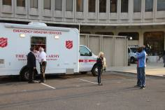 Pope Visit, Salvation Army volunteers, from Philly Facebook page, Philadelphia, Sept 2015 (2)