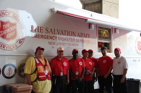 Pope Visit, Salvation Army volunteers, from Philly Facebook page, Philadelphia, Sept 2015 (9)