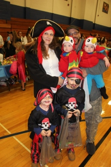 Safe Trick Or Treat Night, Tamaqua Area Senior High School, Tamaqua, 10-29-2015 (124)