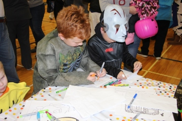 Safe Trick Or Treat Night, Tamaqua Area Senior High School, Tamaqua, 10-29-2015 (57)