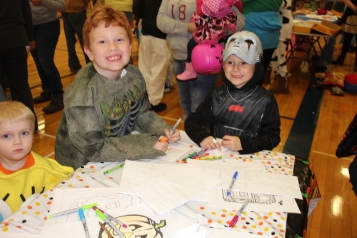 Safe Trick Or Treat Night, Tamaqua Area Senior High School, Tamaqua, 10-29-2015 (58)