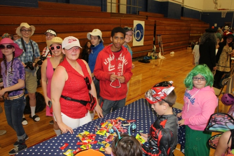 Safe Trick Or Treat Night, Tamaqua Area Senior High School, Tamaqua, 10-29-2015 (68)