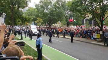 Salvation Army volunteers, Preparing for Pope Visit, Philadelphia, 9-25-2015 (110)