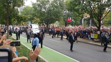 Salvation Army volunteers, Preparing for Pope Visit, Philadelphia, 9-25-2015 (113)