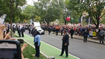 Salvation Army volunteers, Preparing for Pope Visit, Philadelphia, 9-25-2015 (115)