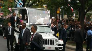 Salvation Army volunteers, Preparing for Pope Visit, Philadelphia, 9-25-2015 (117)