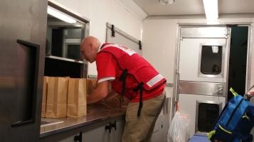 Salvation Army volunteers, Preparing for Pope Visit, Philadelphia, 9-25-2015 (12)
