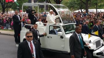 Salvation Army volunteers, Preparing for Pope Visit, Philadelphia, 9-25-2015 (127)