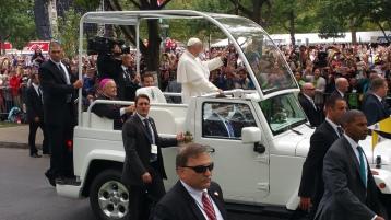 Salvation Army volunteers, Preparing for Pope Visit, Philadelphia, 9-25-2015 (129)