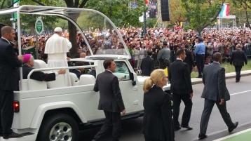 Salvation Army volunteers, Preparing for Pope Visit, Philadelphia, 9-25-2015 (133)