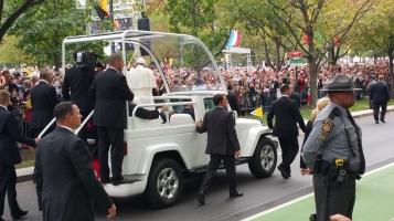 Salvation Army volunteers, Preparing for Pope Visit, Philadelphia, 9-25-2015 (134)