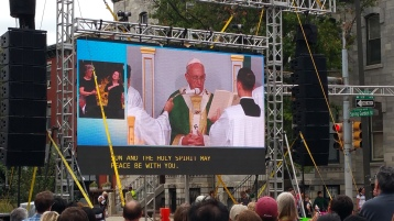 Salvation Army volunteers, Preparing for Pope Visit, Philadelphia, 9-25-2015 (161)
