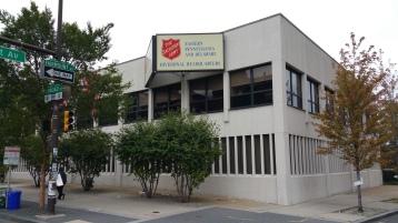 Salvation Army volunteers, Preparing for Pope Visit, Philadelphia, 9-25-2015 (172)