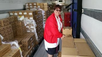 Salvation Army volunteers, Preparing for Pope Visit, Philadelphia, 9-25-2015 (175)