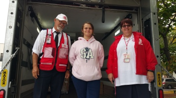 Salvation Army volunteers, Preparing for Pope Visit, Philadelphia, 9-25-2015 (176)