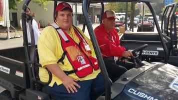 Salvation Army volunteers, Preparing for Pope Visit, Philadelphia, 9-25-2015 (18)