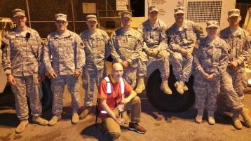 Salvation Army volunteers, Preparing for Pope Visit, Philadelphia, 9-25-2015 (194)