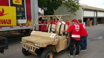 Salvation Army volunteers, Preparing for Pope Visit, Philadelphia, 9-25-2015 (29)