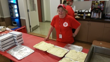 Salvation Army volunteers, Preparing for Pope Visit, Philadelphia, 9-25-2015 (34)