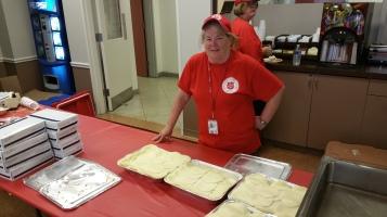 Salvation Army volunteers, Preparing for Pope Visit, Philadelphia, 9-25-2015 (34)