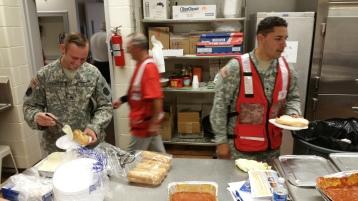 Salvation Army volunteers, Preparing for Pope Visit, Philadelphia, 9-25-2015 (36)