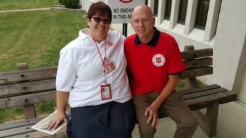 Salvation Army volunteers, Preparing for Pope Visit, Philadelphia, 9-25-2015 (37)