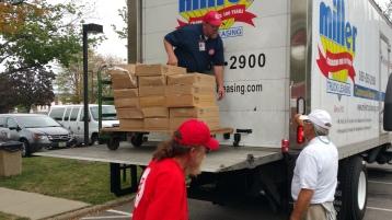 Salvation Army volunteers, Preparing for Pope Visit, Philadelphia, 9-25-2015 (50)