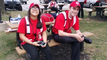Salvation Army volunteers, Preparing for Pope Visit, Philadelphia, 9-25-2015 (51)