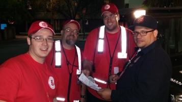 Salvation Army volunteers, Preparing for Pope Visit, Philadelphia, 9-25-2015 (66)