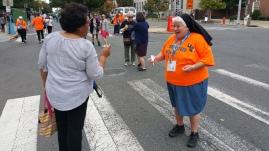 Salvation Army volunteers, Preparing for Pope Visit, Philadelphia, 9-25-2015 (79)