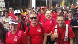 Salvation Army volunteers, Preparing for Pope Visit, Philadelphia, 9-25-2015 (80)a b