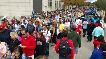 Salvation Army volunteers, Preparing for Pope Visit, Philadelphia, 9-25-2015 (81)