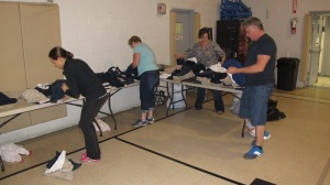 School Uniform Clothing Giveaway, Drop-Off, Salvation Army, Tamaqua, 9-19-2015 (8)
