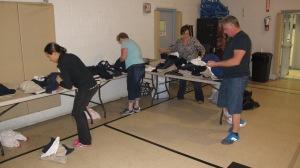 School Uniform Clothing Giveaway, Drop-Off, Salvation Army, Tamaqua, 9-19-2015 (8)