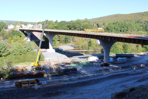 Status of Bridge Construction, Jim Thorpe, 10-5-2015 (1)