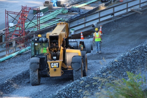 Status of Bridge Construction, Jim Thorpe, 10-5-2015 (12)
