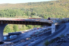 Status of Bridge Construction, Jim Thorpe, 10-5-2015 (2)