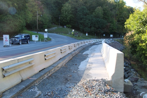 Status of Bridge Construction, Jim Thorpe, 10-5-2015 (20)