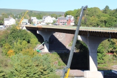 Status of Bridge Construction, Jim Thorpe, 10-5-2015 (4)