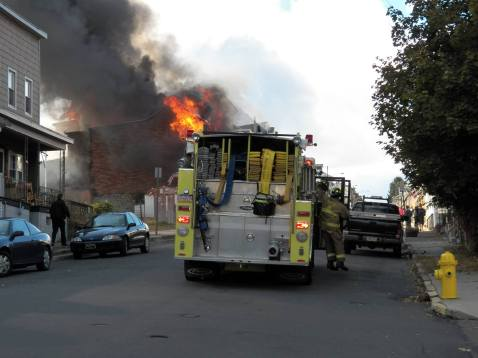 Structure Fire, photos courtesy Bill N Tonia, Ashland, 10-18-2015 (1)