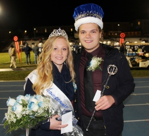 Crowned 2015 King and Queen were Morgan Boyle and Hoyt Gyuricsek.
